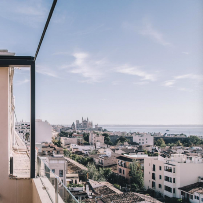 Penthouse with a view in Palma